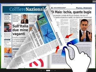 Presentazione del Nuovo corriere nazionale del 18 novembre 2018