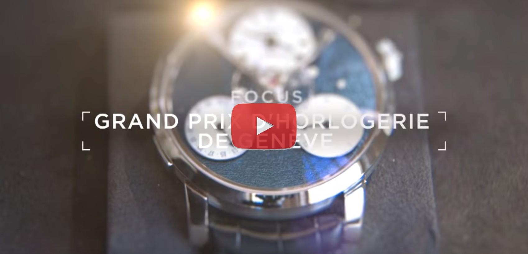 Un Oscar per l'orologeria video del Gran Premio di Ginevra