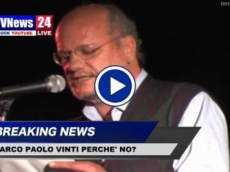 Dedicare a Paolo Vinti parco via della scuola di Ponte San Giovanni, il video di un suo intervento