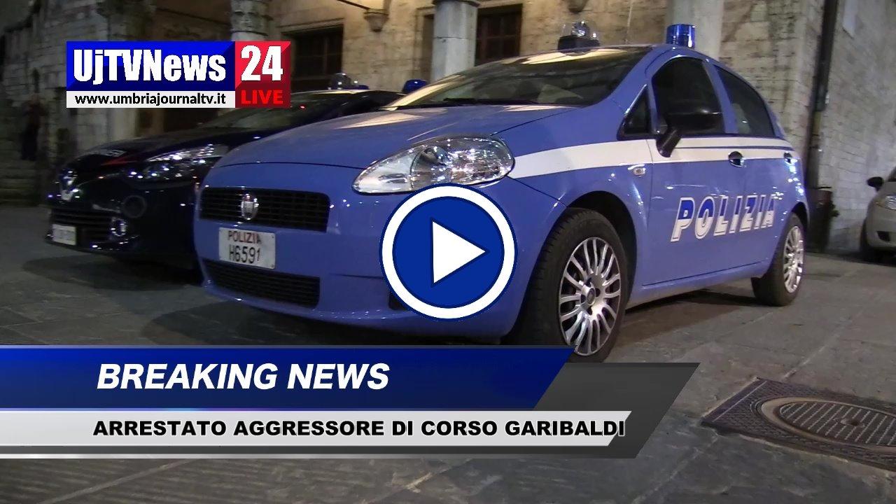 Aggressione Corso Garibaldi, Polizia ferma straniero, video