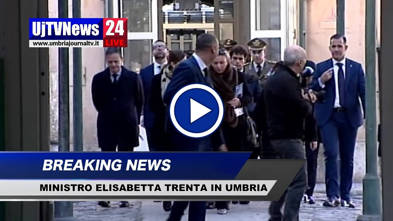 Ministro Difesa, Elisabetta Trenta oggi in Umbria, il video di Terni