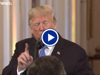 """Trump """"non crede"""" al rapporto sul clima, non è una novità, il video"""