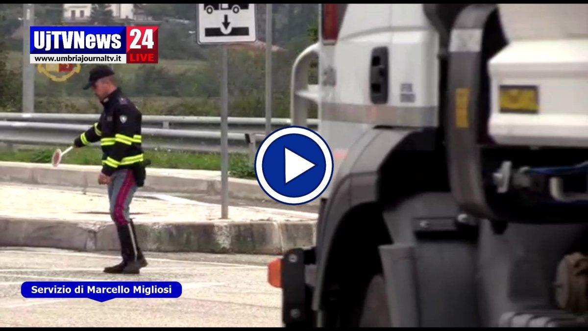 Video delle operazioni della Polstrada rinvenuti 700 proiettili