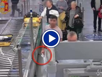 Fiumicino, il ladro di soldi incastrato dalle telecamere