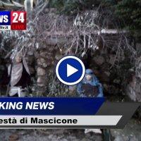 La Maestà di Mascicone si arricchisce per il Natale del Presepe, video