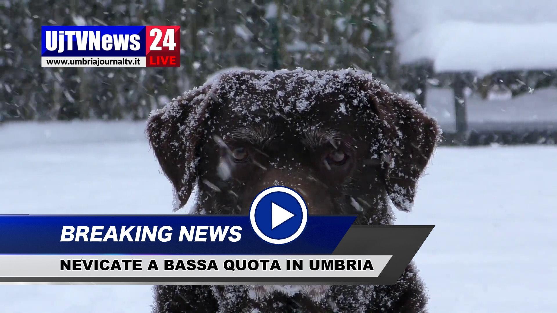 Torna il maltempo sull'Italia, possibili nevicate in Umbria anche a quote basse