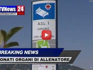 Muore allenatore a Città di Castello, donati organi, il videoMuore allenatore a Città di Castello, donati organi, il video