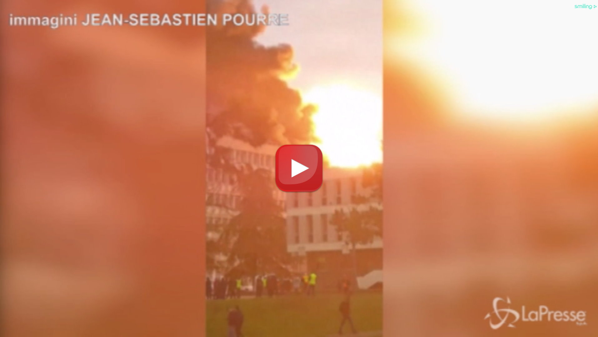 Francia, forte esplosione all'Università di Lione, causata da bombole di gas
