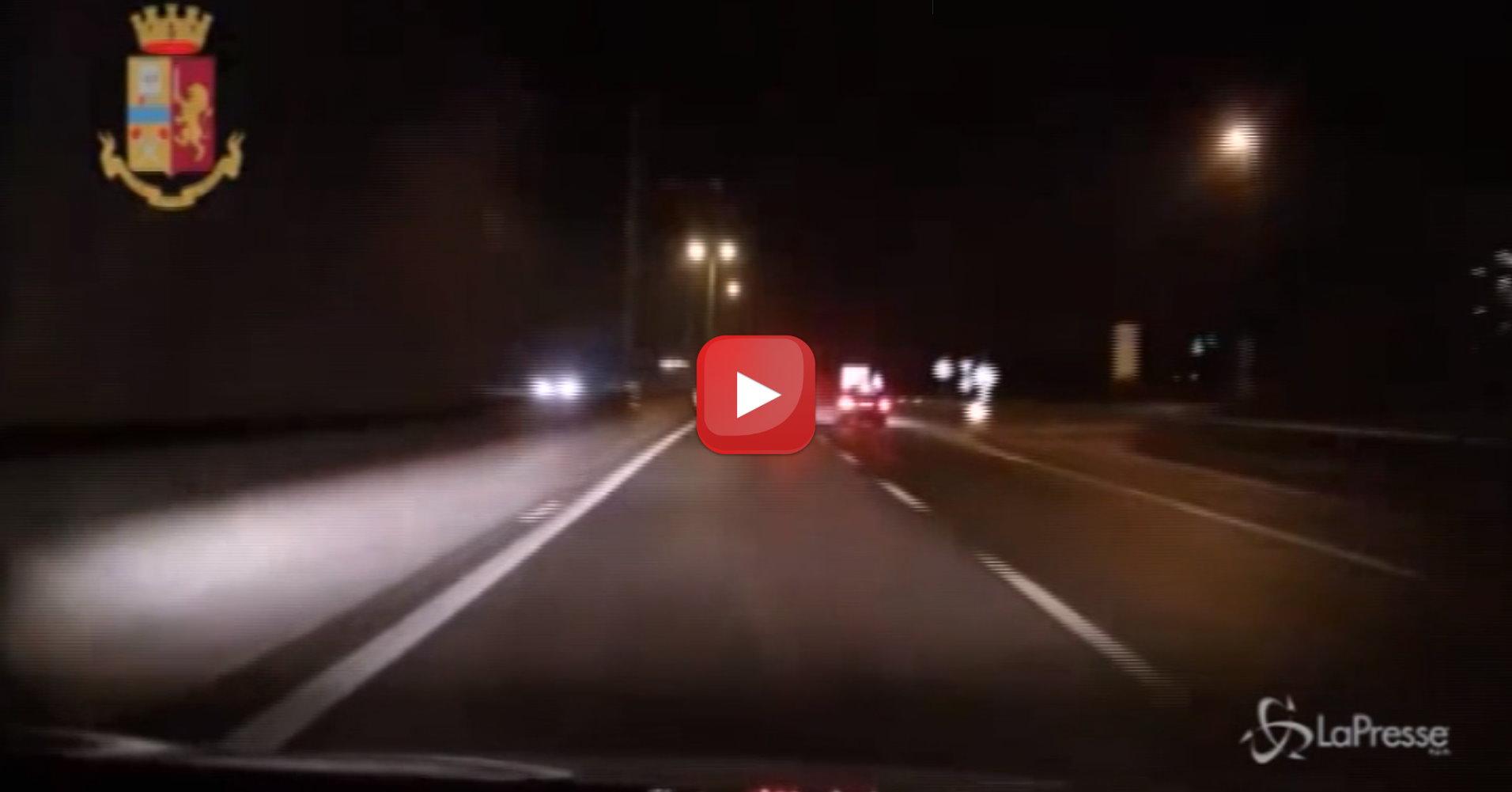 Incidente Milano-Meda, il video dello schianto rilasciato dalla polizia