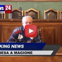 L'ingegner Michele Cinaglia fa una donazione alla Misericordia di Magione