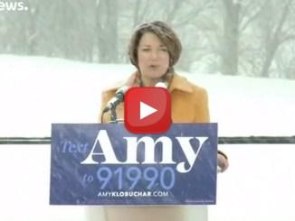 USA, Amy Klobucher prime manovre per le presidenziali 2020