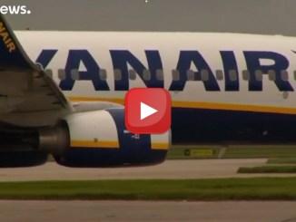 Compagnia aerea Ryanair in rosso, perdite per 20 milioni di euro