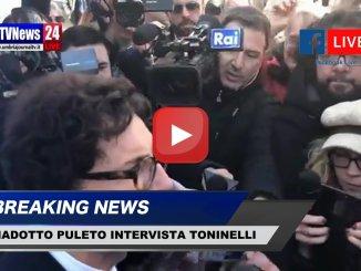 Viadotto Puleto E45 Ministro Toninelli obiettivo è riaprilo anche ai mezzi pesanti