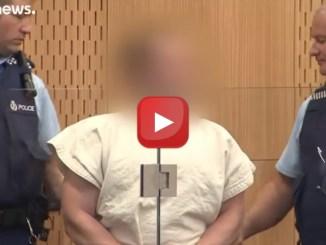 Attacco Nuova Zelanda, video del killer, in tribunale fa saluto suprematista