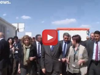 Il presidente Sergio Mattarella in visita ufficiale in Giordania