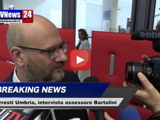 Arresti Umbria, Sanità, intervista all'assessore Bartolini