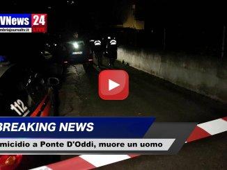 Omicidio a Ponte d'Oddi di Perugia, ucciso a colpi di fucile