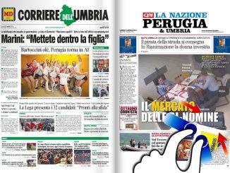La rassegna stampa video dell'Umbria e nazionale 15 aprile 2019