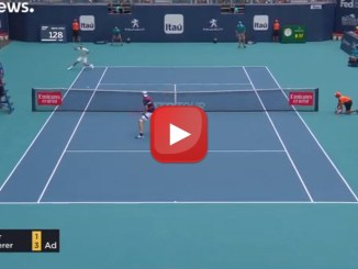 Roger Federer trionfa agli Open di Miami il video