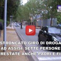 Stroncato gruppo di pusher ad Assisi, 7 persone arrestate, c'erano anche padri e figli