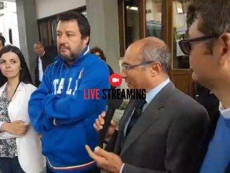 Ministro Salvini visita anche la Molini Fagioli di Magione | 🔴 diretta LIVE