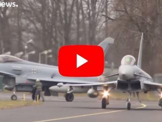 Germania: si scontrano due caccia Eurofighter, morto un pilota