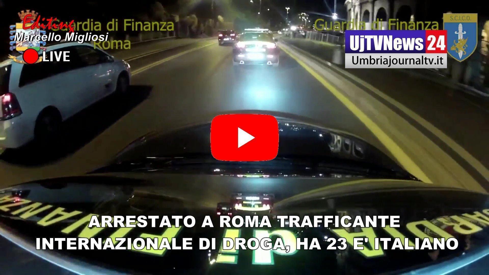 Traffico internazionale di droga, arrestato a Roma un 23enne, sequestrati 3 chili di stupefacente