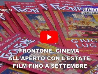 Frontone, Cinema all'aperto di Perugia, film fino a settembre