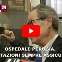 Ospedale Perugia, prestazioni sempre assicurate, Onnis risponde a sindacati