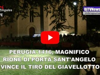 Perugia 1416, vince il Tiro del Giavellotto il Rione di Porta Sant'Angelo