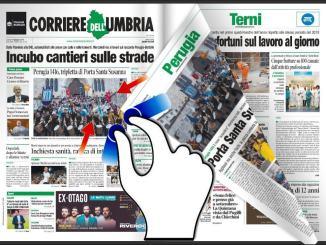 Rassegna stampa sfogliabile locale dell'Umbria e nazionale del 17 giugno