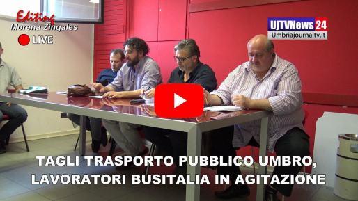Lavoratori Busitalia Umbria in stato di agitazione, daranno vita ad un sit-in