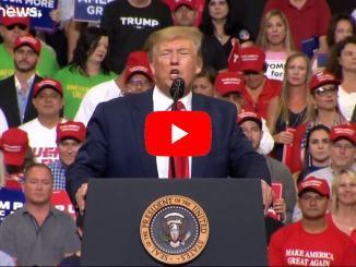 """Trump inaugura la campagna per la rielezione: """"Keep America Great"""""""