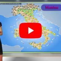 Previsioni del tempo del Centro Meteo italiano per mercoledì 3 luglio 2019