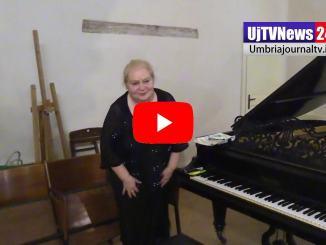 Natalia Moghilevskaya conPioggia di Luglio concerto di pianoforte |Video