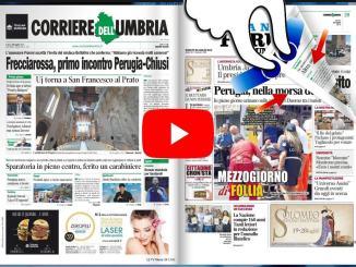 Rassegna stampa dell'Umbria sabato 20 luglio 2019 UjTV News24 LIVE