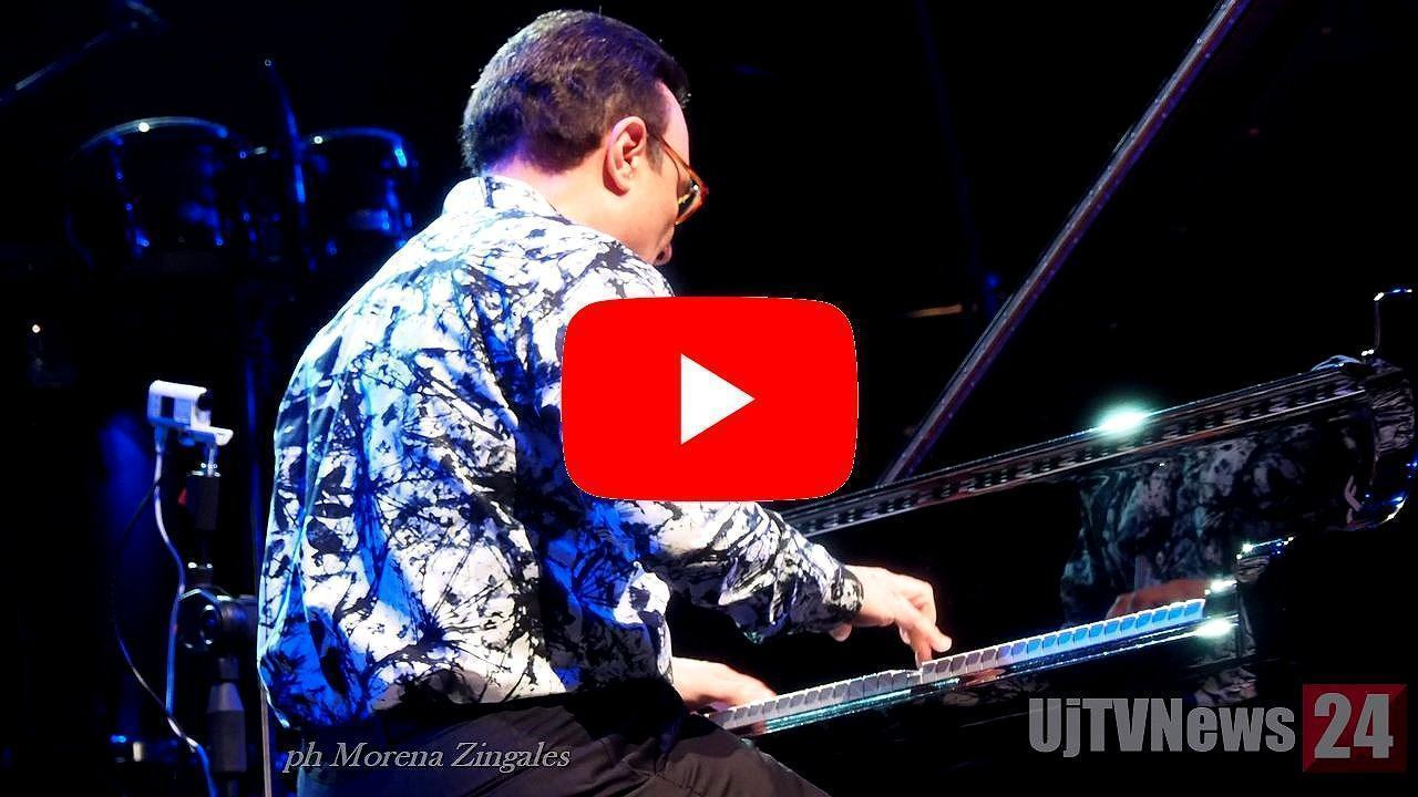 Michel Camilo, il pianista dominicano all'Arena di Umbria Jazz 2019 a Perugia