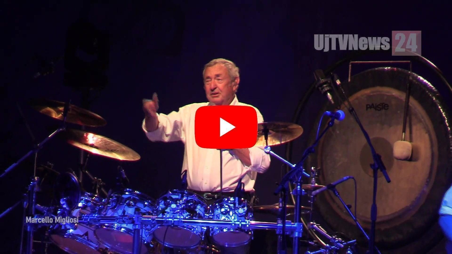 Nick Mason, le canzoni dei Pink Floyd all'arena di Umbria Jazz