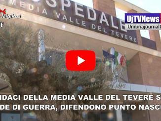 Sindaci della Media valle del Tevere in rivolta, difendono punto nascita