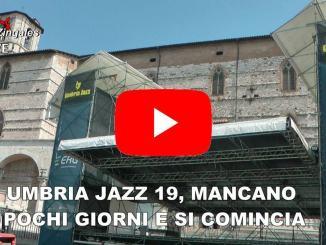 Perugia si veste di Jazz, ultimi preparativi e poi si comincia