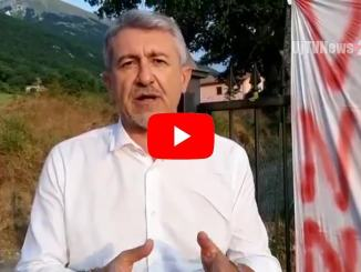 La video protesta di Valerio Mancini, senza bus Valnerina isolata