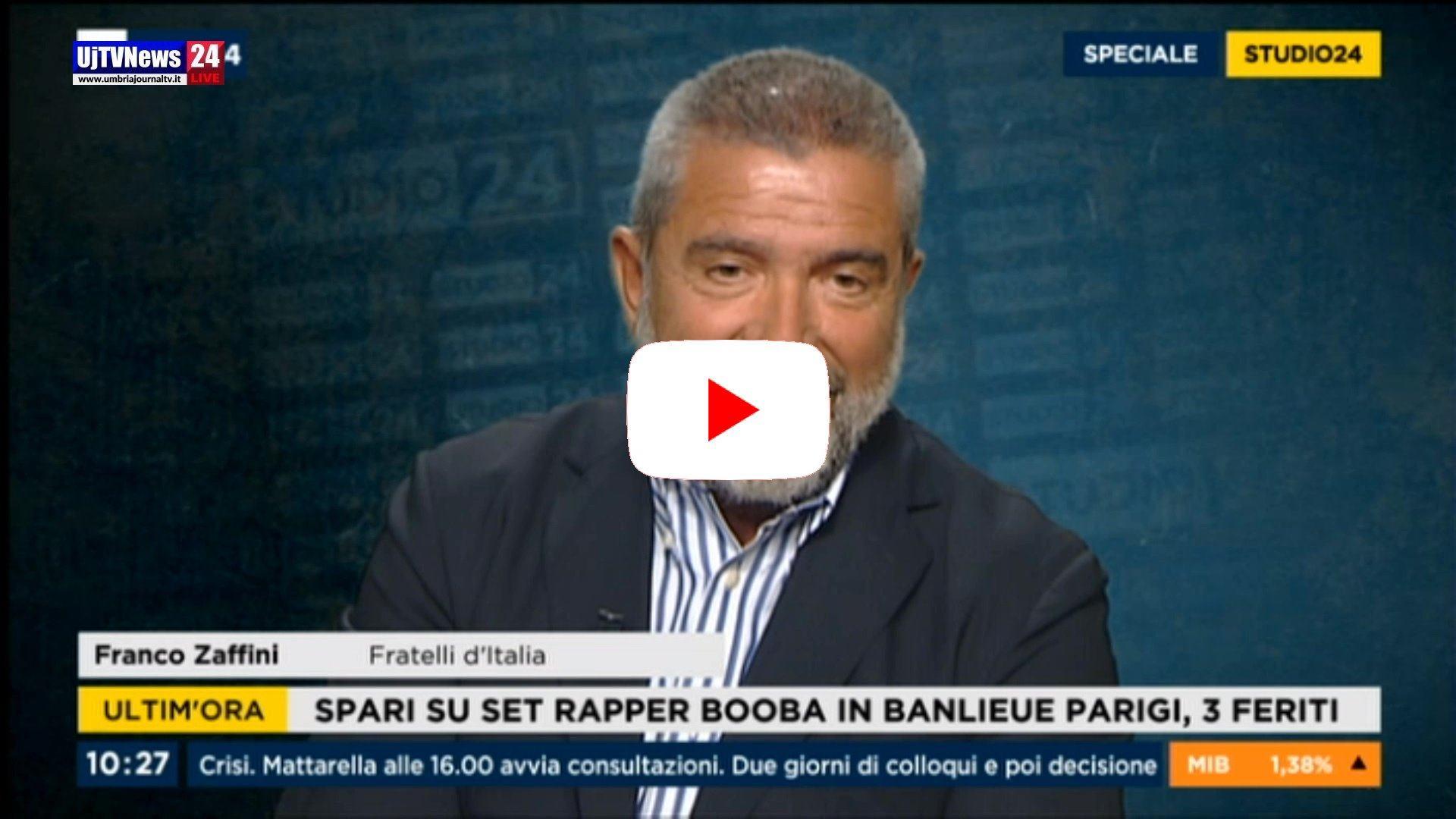 Senatore Zaffini a Rai News 24: «Il governo si fa con il PD di Renzi»