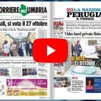 Rassegna stampa dell'Umbria venerdì 9 agosto 2019 UjTV News24 LIVE