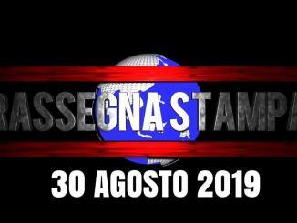 Rassegna stampa dell'Umbria 30 agosto 2019 UjTV News24 LIVE