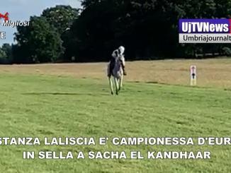 Costanza Laliscia e Sacha El Kandhaar campioni d'Europa Endurance