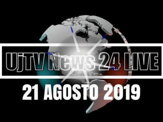 TG edizione della sera 21 agosto 2019 telegiornale dell'Umbria UjTV News24 LIVE