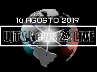 TG edizione della sera 14 agosto 2019 telegiornale dell'Umbria UjTV News24 LIVE