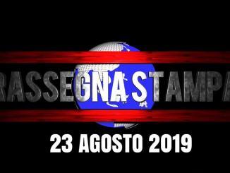 Rassegna stampa dell'Umbria venerdì 23 agosto 2019 UjTV News24 LIVE