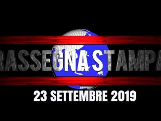 Rassegna stampa dell'Umbria 23 settembre 2019 UjTV News24 LIVE