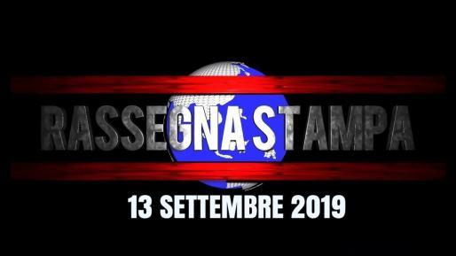 Rassegna stampa dell'Umbria 13 settembre 2019 UjTV News24 LIVE